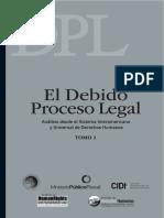 Tomo I Debido Proceso Due Process of Law Foundation