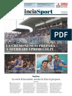 La Provincia Di Cremona 03-07-2017 - Serie B - Pag.1