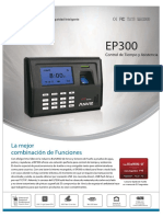ANVIZ-LECTOR-BIOMETRICO-EP300-ESPAÑOL
