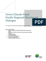 2017 GCF Structured Dialogue With the Pacific - Agenda