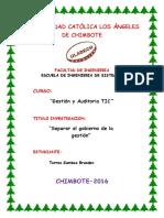 Monografia Gestion Auditoria TIC