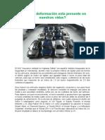 Deformaciones-factor de Rigidez