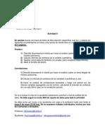 AADD I- Actividad II 03-05-2017