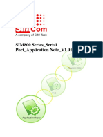 SIM800 Series Serial Port Application Note 1.01