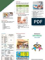 Leaflet Pentingnya Imunisasi