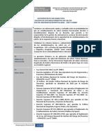 Anteproyecto de Directiva Ish y Ishmp Para Establecimientos de Salud