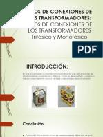 Tipos de Conexiones de Los Transformadores(1)