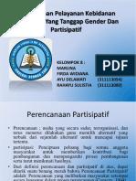 Perencanaan Pelayanan Kebidanan Komunitas Yang Tanggap Gender
