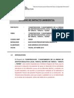 estudio de impacto ambiental grt