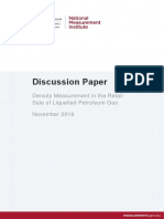 Density Measurement in the Retail Sale of Liquefied Petroleum Gas