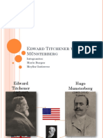 Edward Titchener y Hugo Münsterberg