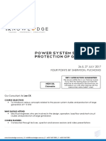 Power Systems Studies and Protection of Generators (July 2017)_FAEZAH
