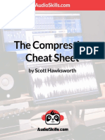 Audio Compression Cheat Sheet