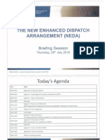 The New Enhanced Dispatch Arrangement (Neda)