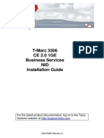 Installation Guide T-Marc 3306 MN100280 Revision A