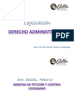 3ra. SESIÓN Legislación-Derecho Administrativo GALILEO