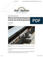 Rail-Oriented Development Wreck Can Still Be Prevented