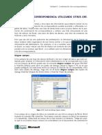4.2 Combinar Correspondencia Utilizando Otros Orígenes de Datos