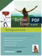Refine Your Life Workbook2014