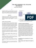 Estructura Del Dominio y El Ciclo de Histerisis