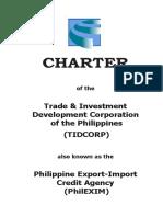 PhilEXIM Charter PDF