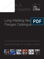 Long Welding Neck Product Range Catalogue