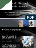 1.1. Dimensión Ética de La Conducta
