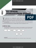 Contoh soal Test Spasial (Penggabungan Gambar)