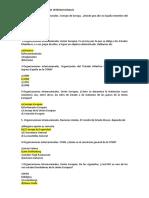 PREGUNTAS TEMA 18  GUARDIA CIVIL ORGANIZACIONES INTERNACIONALES