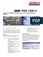 PMA 1200 H Datenblatt Renitherm En