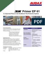 Primer EP61 Datenblatt Renitherm En