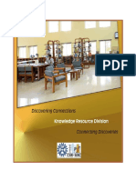 Knowledge Resource Division,  KRD Booklet