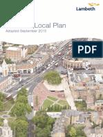 Lambeth Local Plan
