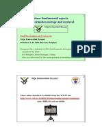 Drug Information Retrieval & Storage