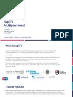 SupEFL Multiplier Project Presentation