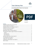 DGT Delivery Plan -Summary & Critical Review (C) Didcot Garden Town Community July 2017