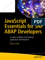 JavaScript Essentials for SAP ABAP Developers