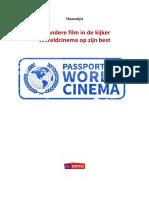 Wereldcinema Themalijst