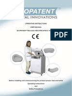 Ecopatent Macerator User Manual August 2010
