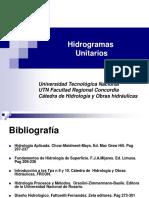Análisis de Hidrogramas - Hidrograma Unitario-2014