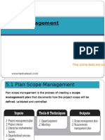 2. Scope Management