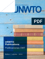 Unwto Catalogue 2016