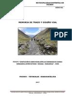 4.2.- Estudio de Trazo y Diseño Vial