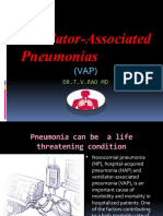 Ventilator Associated Pneumonias