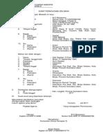Format Surat Menikah Calon Istri Tentara