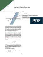 Contracción de Lorentz