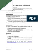 St Gallen Prog Info