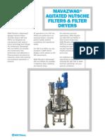 Mavazwag Agitated Nutsche Filters & Filter Dryers