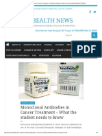Monoclonal Antibodies in Cancer Treatment – What the Student Needs to Know _ PADHAM HEALTH NEWS