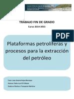 Plataformas petroliferas y procesos para la extraccion del petroleo .pdf
